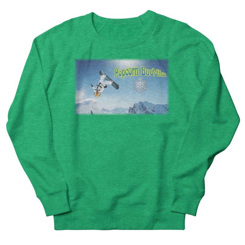 winter fun Women's Sweatshirt by Popcorn Buddha Merchandise