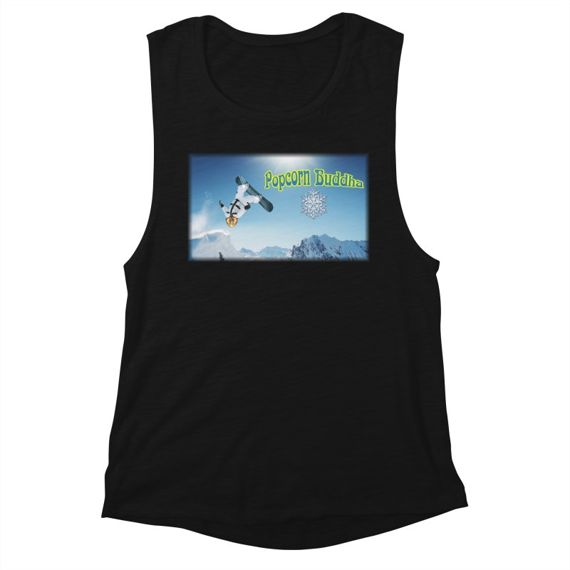 winter fun Women's Tank by Popcorn Buddha Merchandise