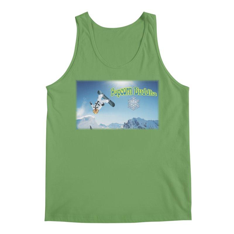 winter fun Men's Tank by Popcorn Buddha Merchandise