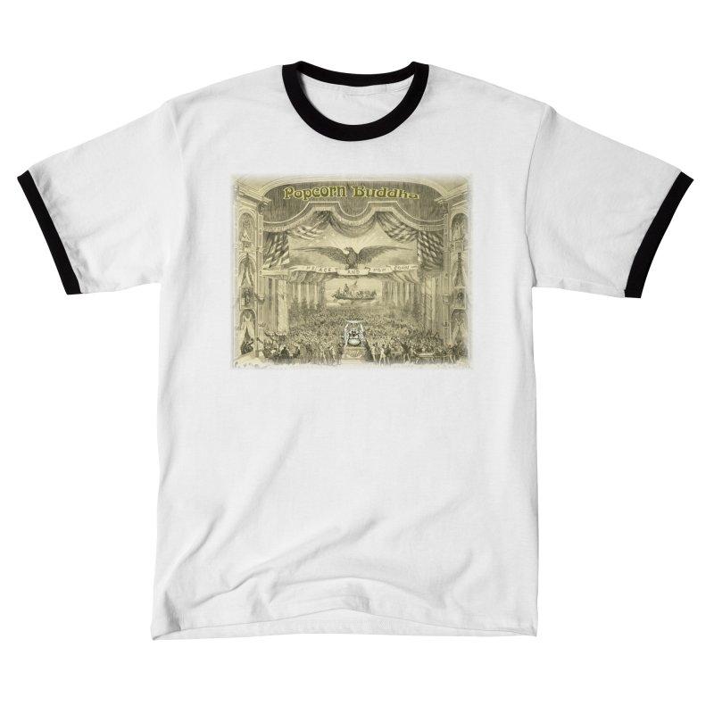 Popcorn Party History Women's T-Shirt by Popcorn Buddha Merchandise