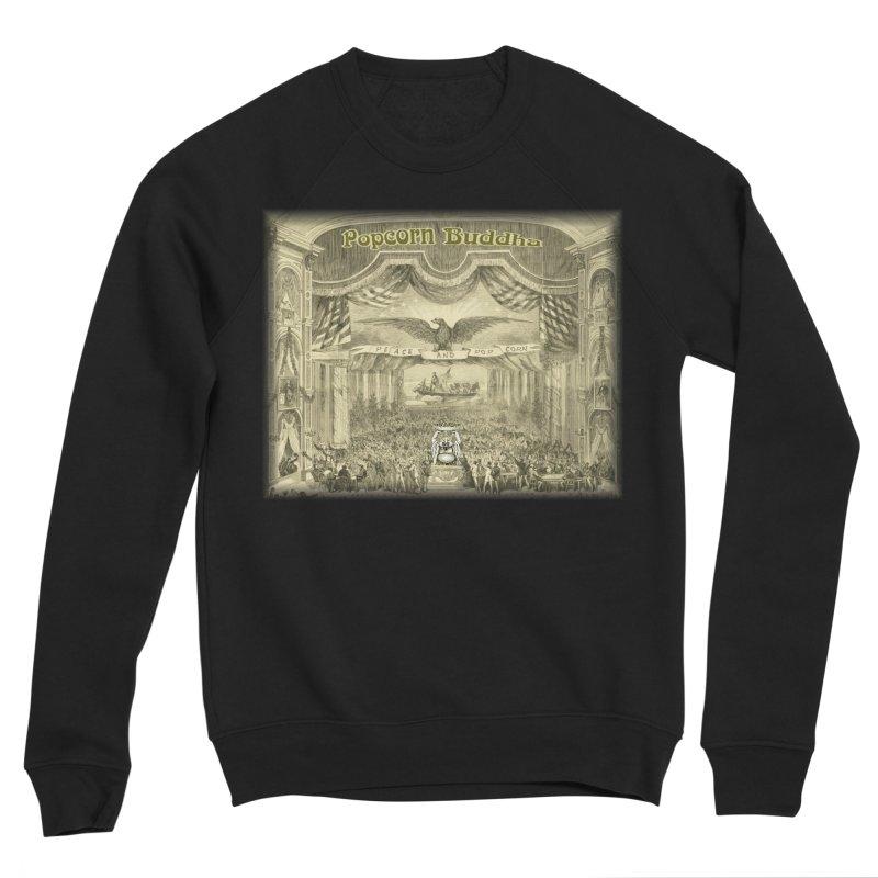 Popcorn Party History Men's Sweatshirt by Popcorn Buddha Merchandise