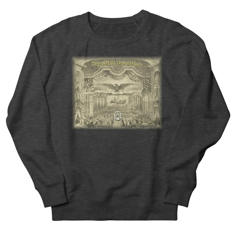 Popcorn Party History Women's Sweatshirt by Popcorn Buddha Merchandise