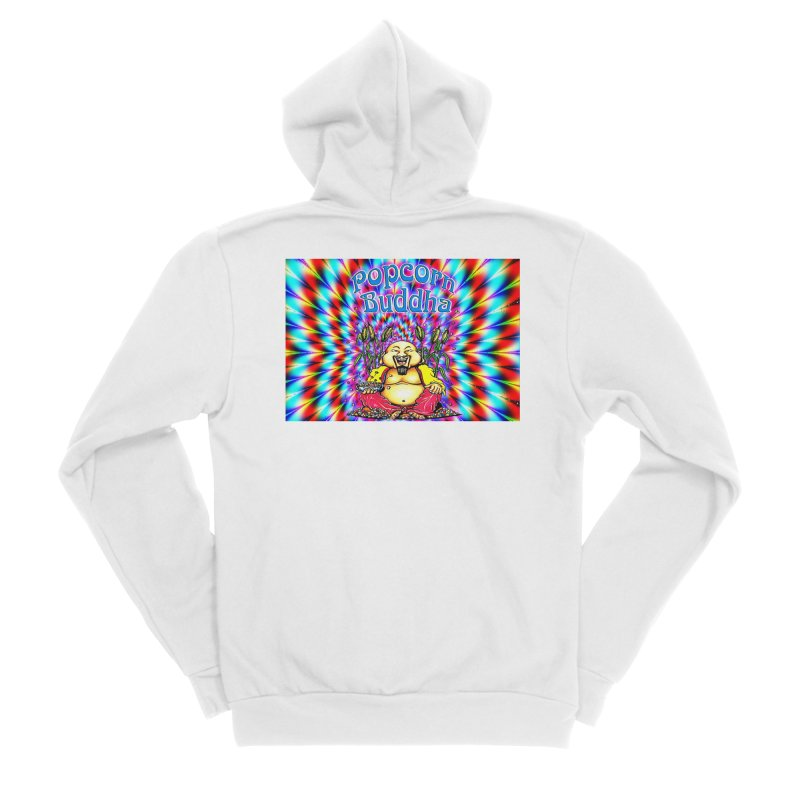 Groovy Men's Zip-Up Hoody by Popcorn Buddha Merchandise