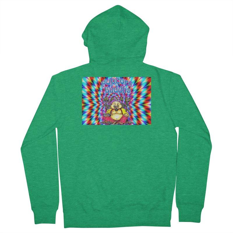 Groovy Women's Zip-Up Hoody by Popcorn Buddha Merchandise