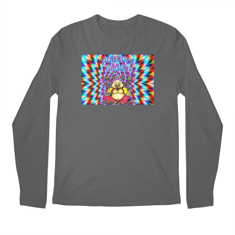 Groovy Men's Longsleeve T-Shirt by Popcorn Buddha Merchandise