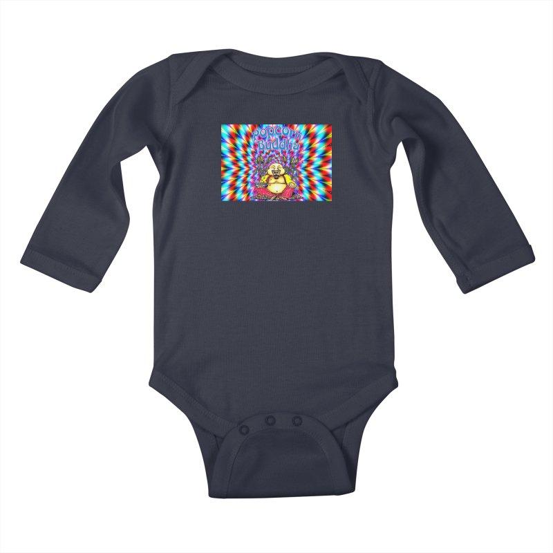 Groovy Kids Baby Longsleeve Bodysuit by Popcorn Buddha Merchandise