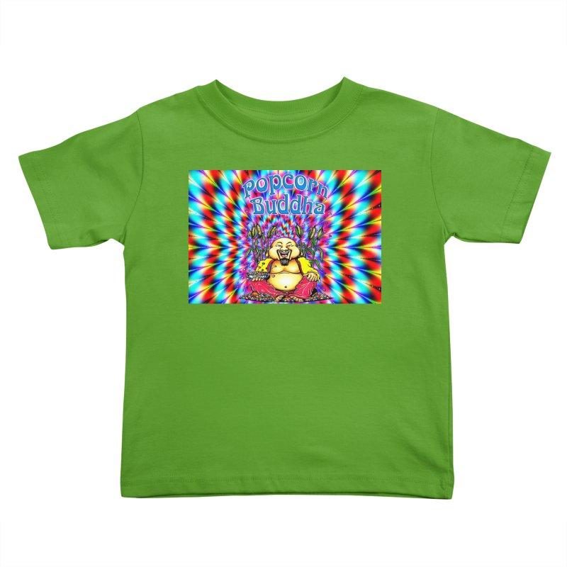 Groovy Kids Toddler T-Shirt by Popcorn Buddha Merchandise