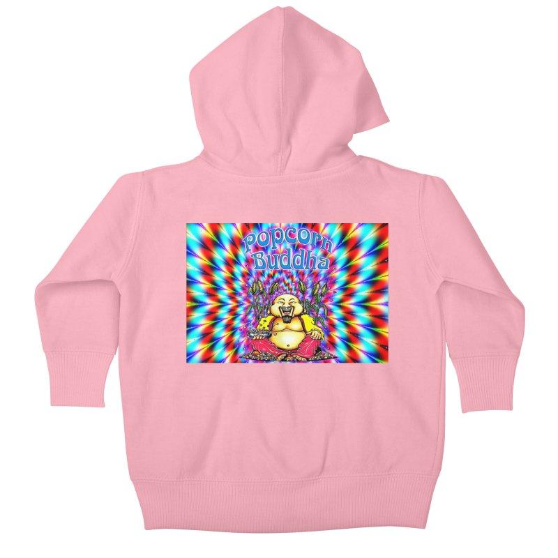 Groovy Kids Baby Zip-Up Hoody by Popcorn Buddha Merchandise