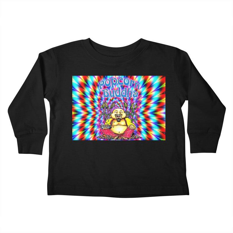 Groovy Kids Toddler Longsleeve T-Shirt by Popcorn Buddha Merchandise