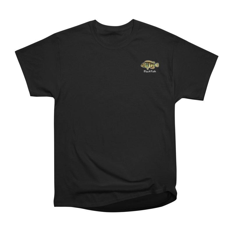 Blackfish Men's T-Shirt by Popcorn Buddha Merchandise