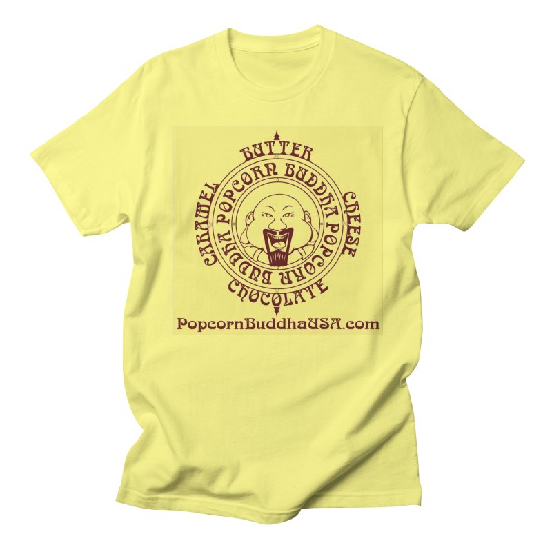 Flavor Compass Men's T-Shirt by Popcorn Buddha Merchandise