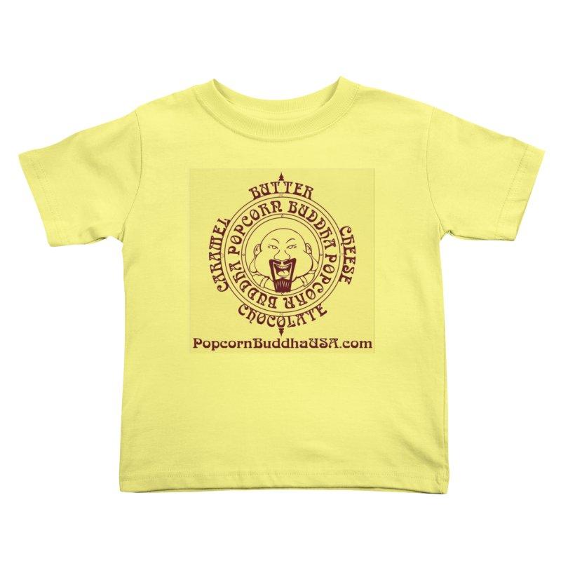 Flavor Compass Kids Toddler T-Shirt by Popcorn Buddha Merchandise