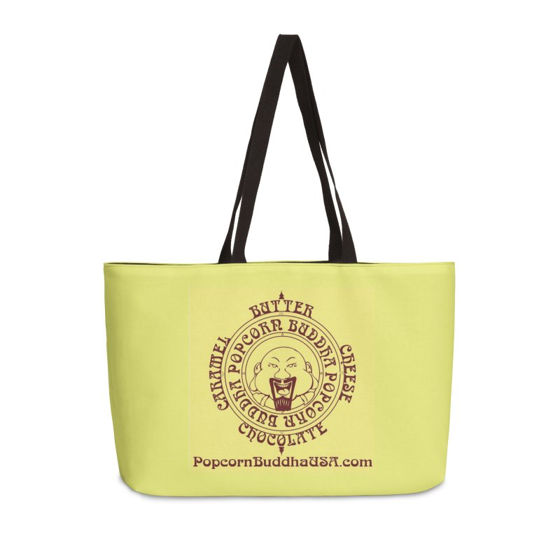 Flavor Compass Accessories Weekender Bag Bag by Popcorn Buddha Merchandise