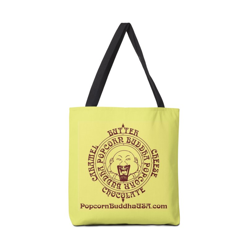 Flavor Compass Accessories Tote Bag Bag by Popcorn Buddha Merchandise