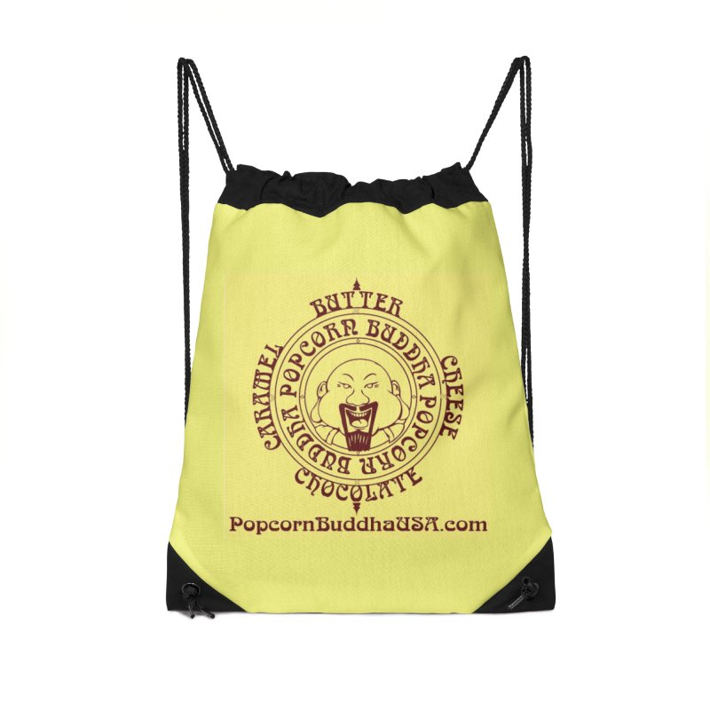 Flavor Compass Accessories Drawstring Bag Bag by Popcorn Buddha Merchandise