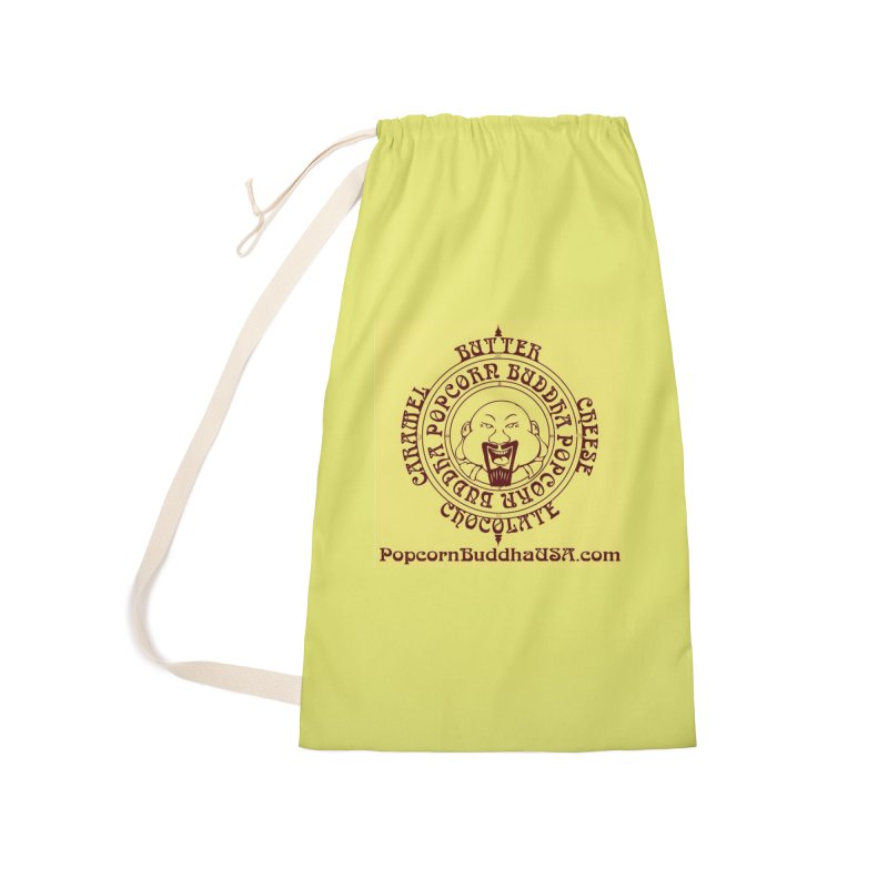 Flavor Compass Accessories Laundry Bag Bag by Popcorn Buddha Merchandise