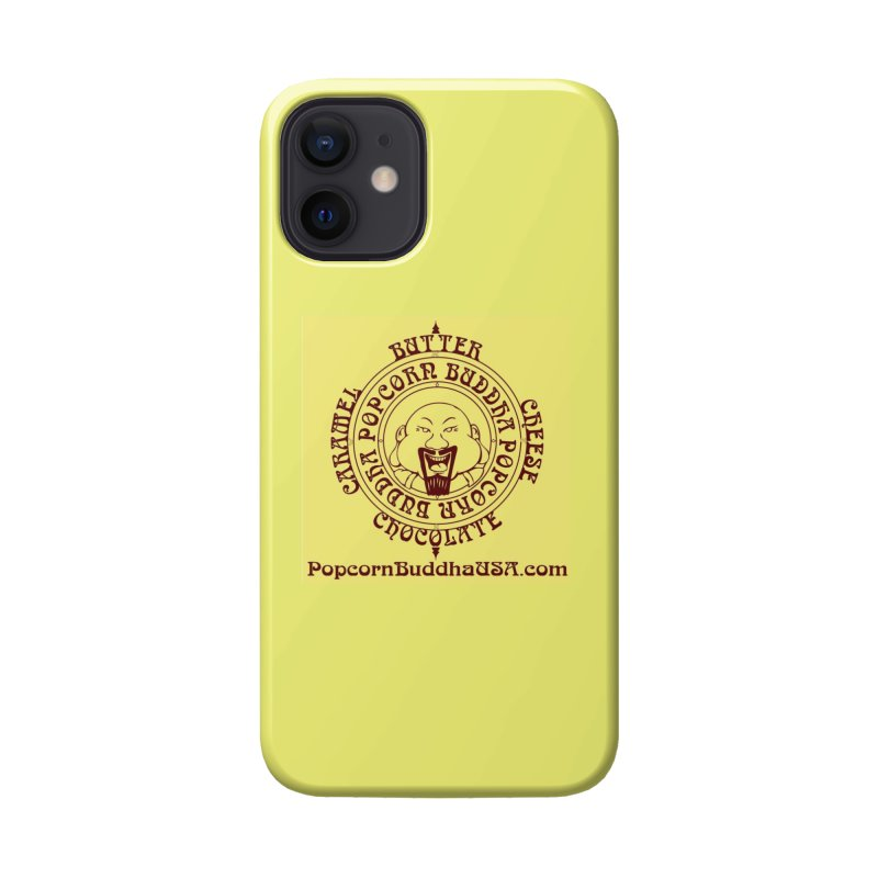 Flavor Compass Accessories Phone Case by Popcorn Buddha Merchandise