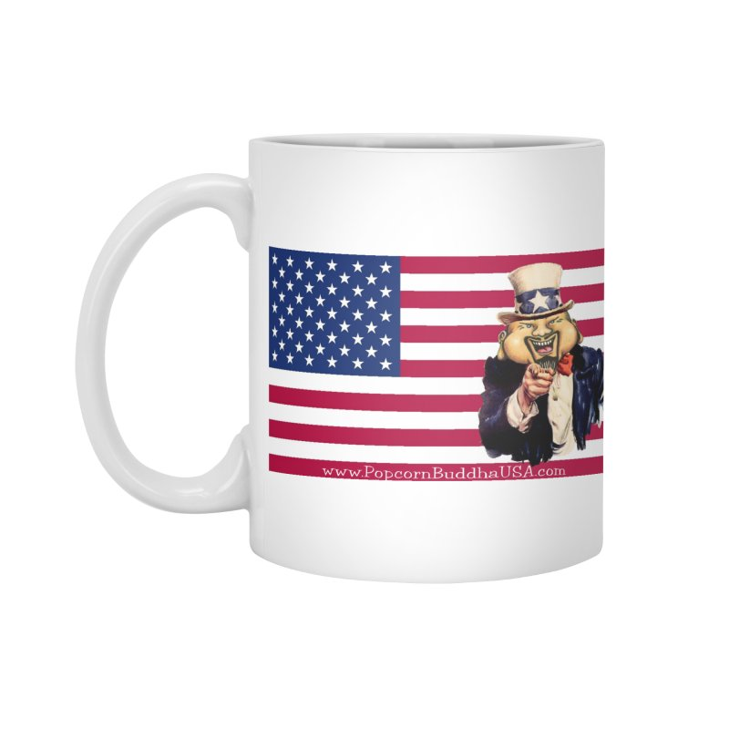 American Flag Accessories Mug by Popcorn Buddha Merchandise
