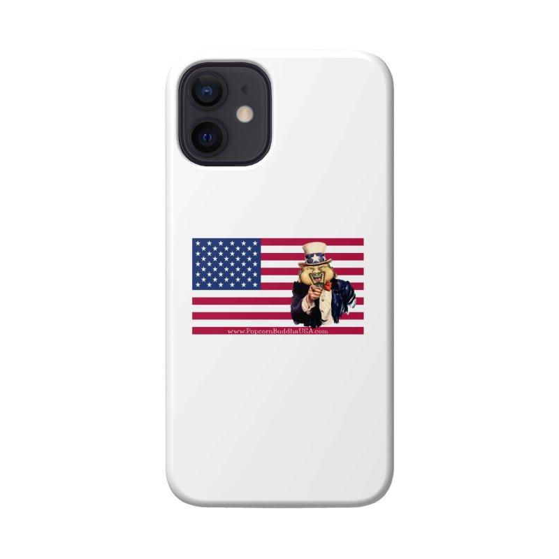 American Flag Accessories Phone Case by Popcorn Buddha Merchandise