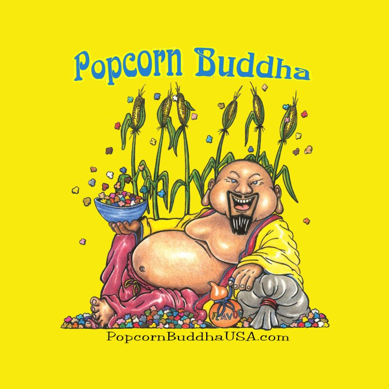 Popcorn Buddha Home Throw Pillow by Popcorn Buddha Merchandise