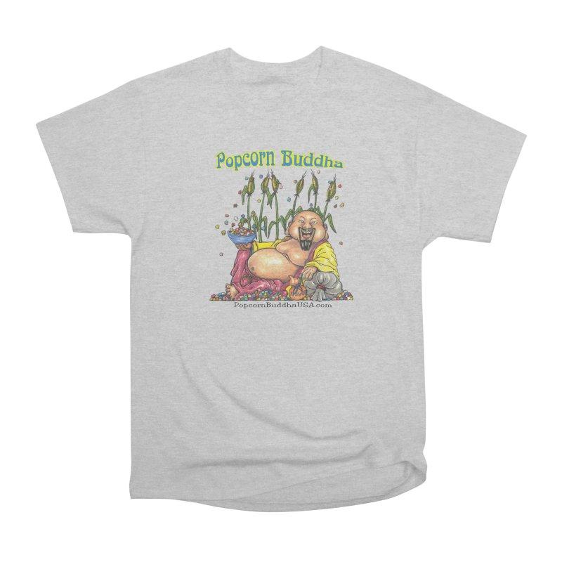 Popcorn Buddha Men's T-Shirt by Popcorn Buddha Merchandise