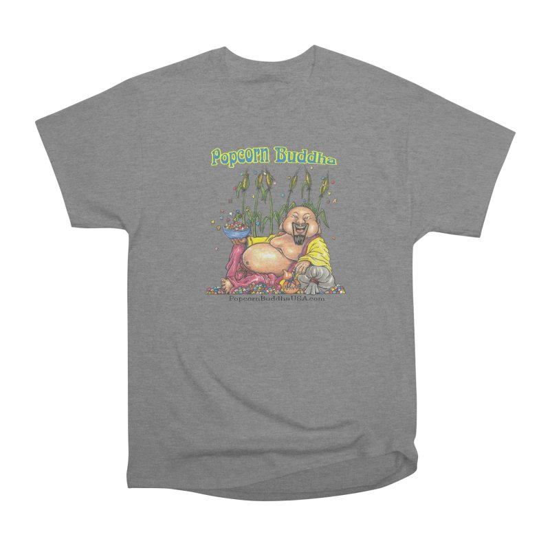 Popcorn Buddha Men's Heavyweight T-Shirt by Popcorn Buddha Merchandise