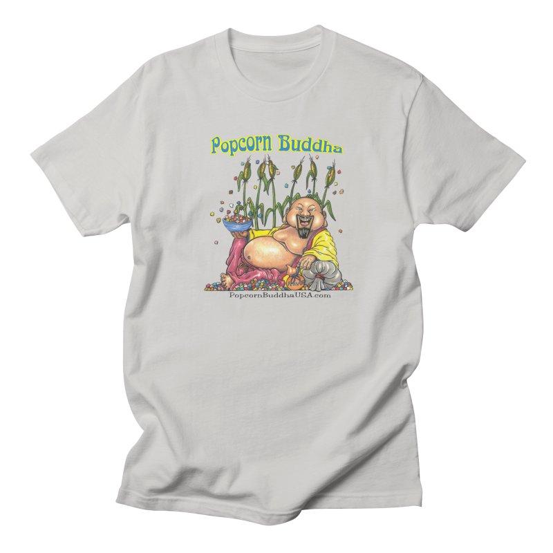 Popcorn Buddha Women's Regular Unisex T-Shirt by Popcorn Buddha Merchandise