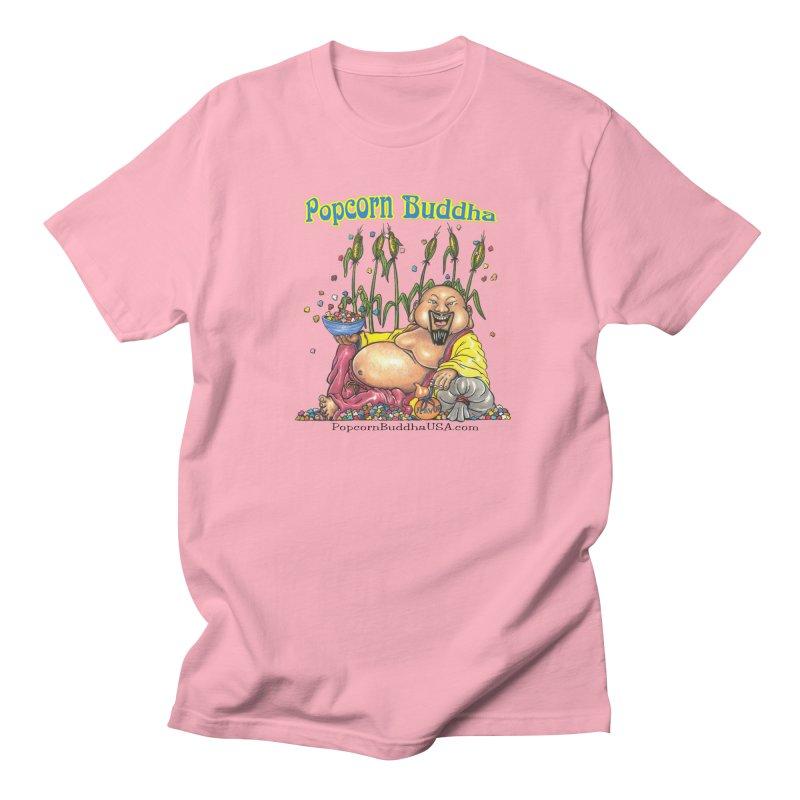Popcorn Buddha Men's Regular T-Shirt by Popcorn Buddha Merchandise