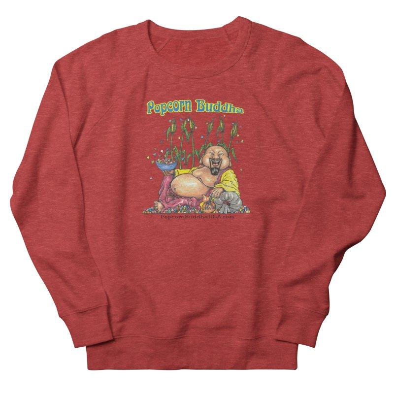 Popcorn Buddha Women's French Terry Sweatshirt by Popcorn Buddha Merchandise