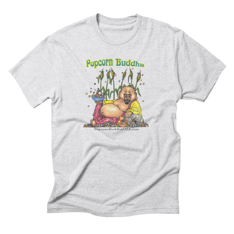 Popcorn Buddha Men's Triblend T-Shirt by Popcorn Buddha Merchandise