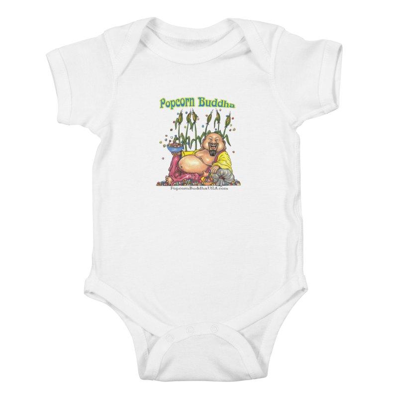 Popcorn Buddha Kids Baby Bodysuit by Popcorn Buddha Merchandise