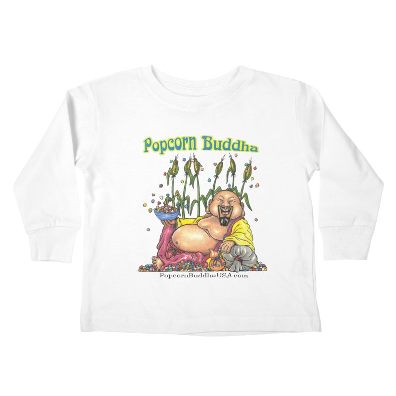 Popcorn Buddha Kids Toddler Longsleeve T-Shirt by Popcorn Buddha Merchandise