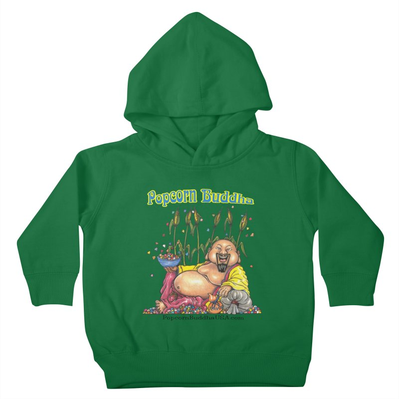 Popcorn Buddha Kids Toddler Pullover Hoody by Popcorn Buddha Merchandise