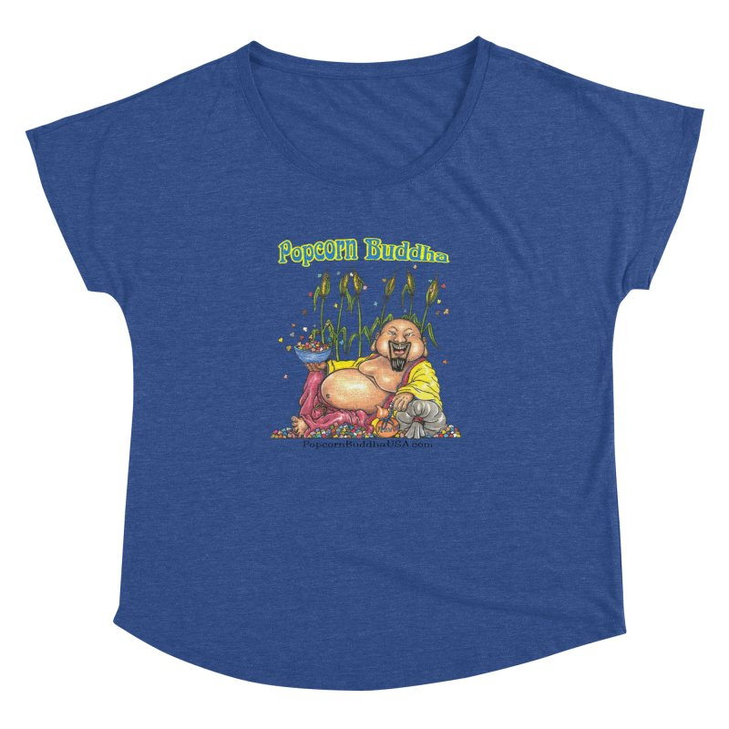 Popcorn Buddha Women's Dolman Scoop Neck by Popcorn Buddha Merchandise