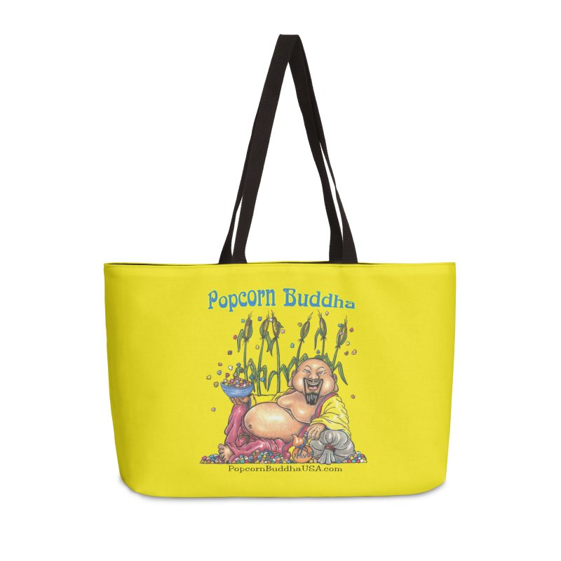 Popcorn Buddha Accessories Weekender Bag Bag by Popcorn Buddha Merchandise