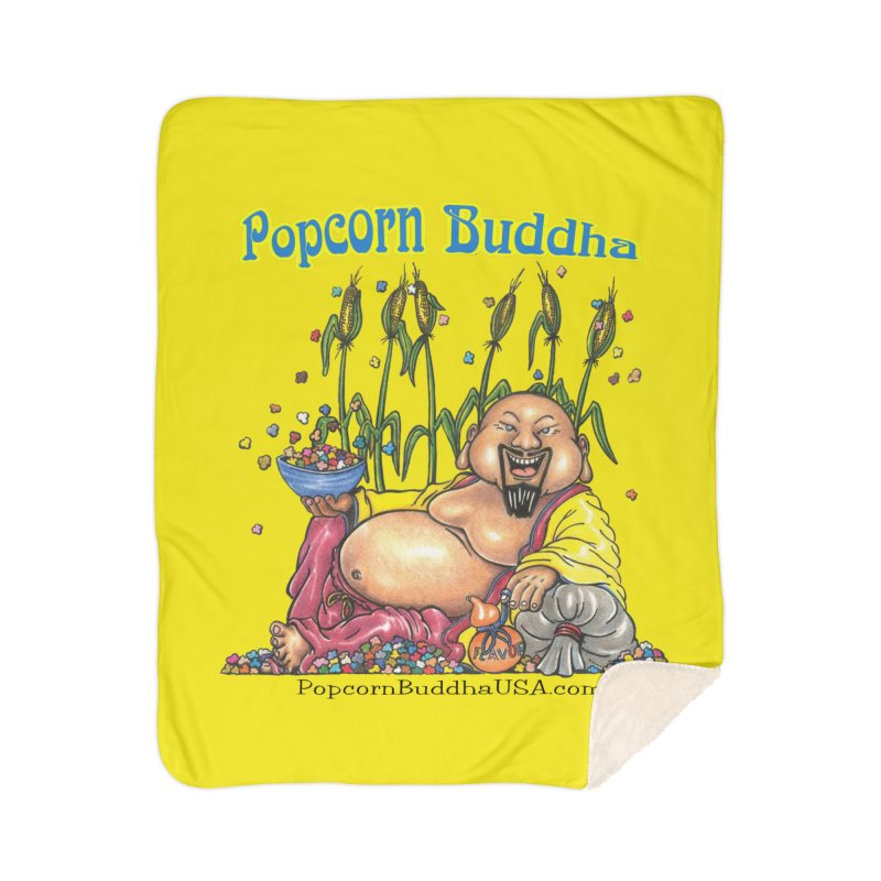 Popcorn Buddha Home Blanket by Popcorn Buddha Merchandise
