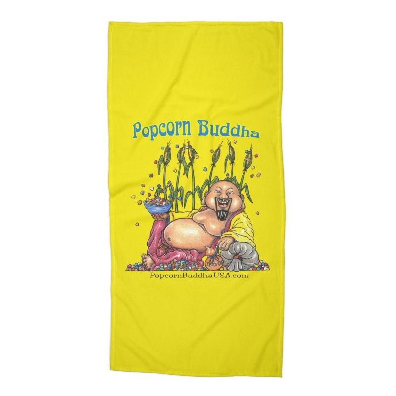 Popcorn Buddha Accessories Beach Towel by Popcorn Buddha Merchandise