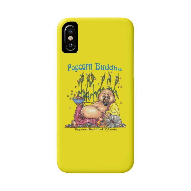 Popcorn Buddha Accessories Phone Case by Popcorn Buddha Merchandise