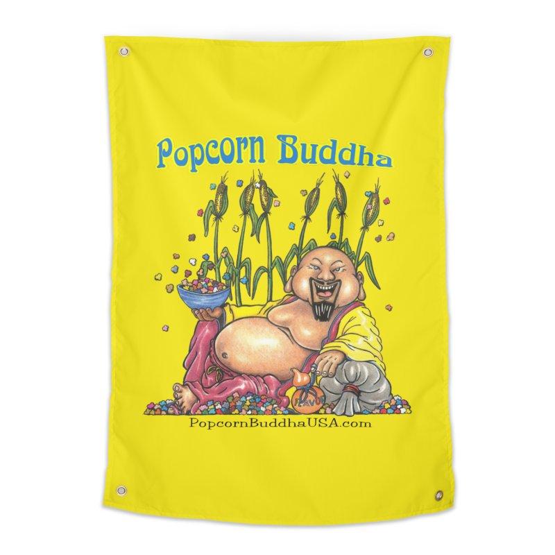 Popcorn Buddha Home Tapestry by Popcorn Buddha Merchandise