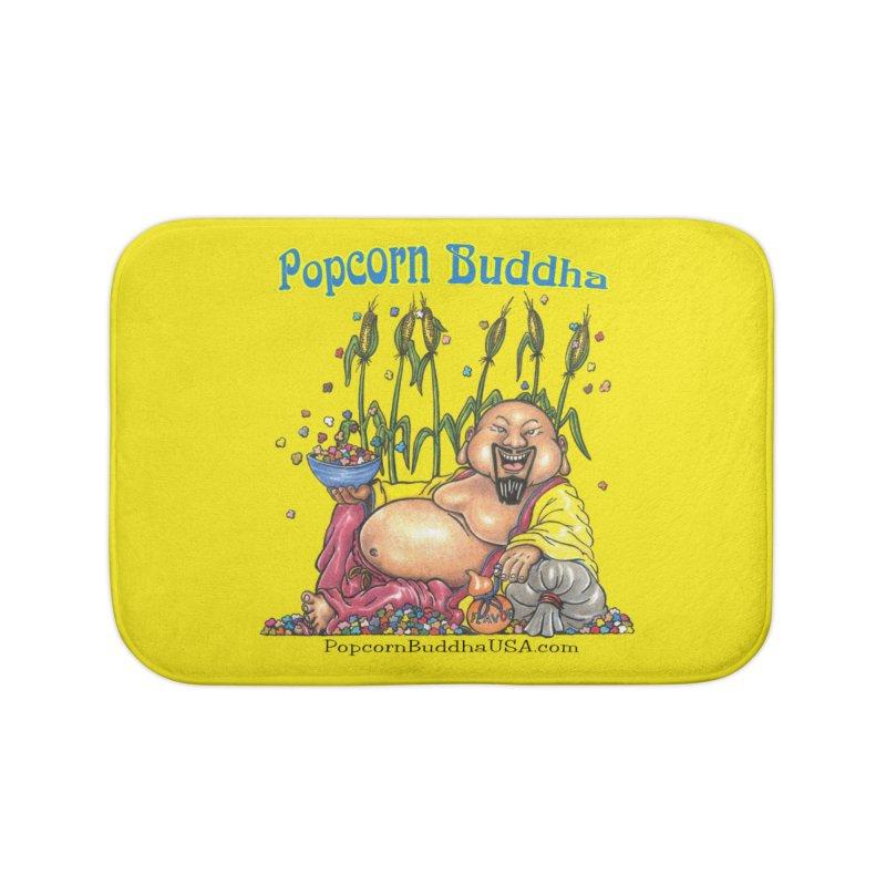 Popcorn Buddha Home Bath Mat by Popcorn Buddha Merchandise