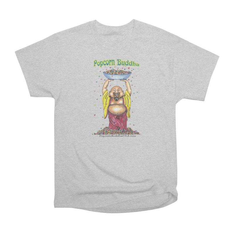 Standing Popcorn Buddha Men's T-Shirt by Popcorn Buddha Merchandise
