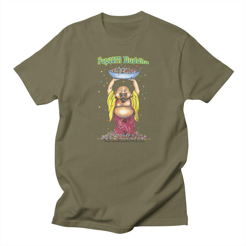 Standing Popcorn Buddha Women's Regular Unisex T-Shirt by Popcorn Buddha Merchandise