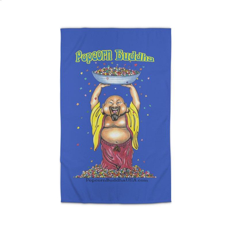 Standing Popcorn Buddha Home Rug by Popcorn Buddha Merchandise