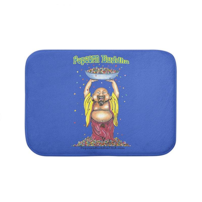 Standing Popcorn Buddha Home Bath Mat by Popcorn Buddha Merchandise