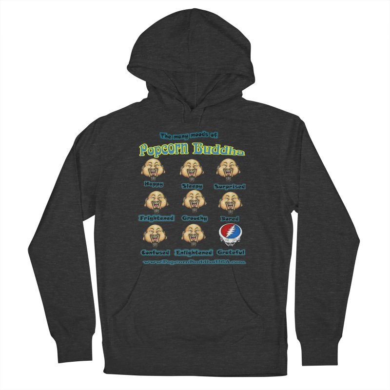 Grateful Mood Men's French Terry Pullover Hoody by Popcorn Buddha Merchandise