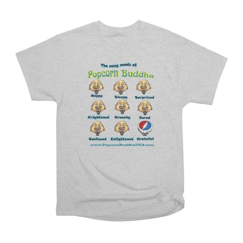 Grateful Mood Men's T-Shirt by Popcorn Buddha Merchandise