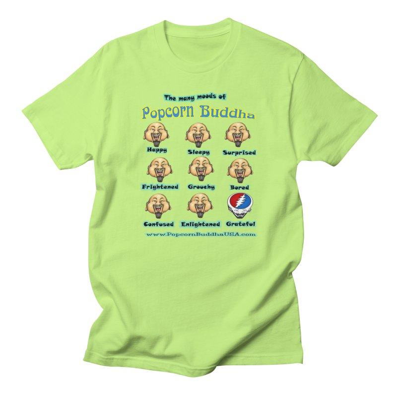 Grateful Mood Men's Regular T-Shirt by Popcorn Buddha Merchandise