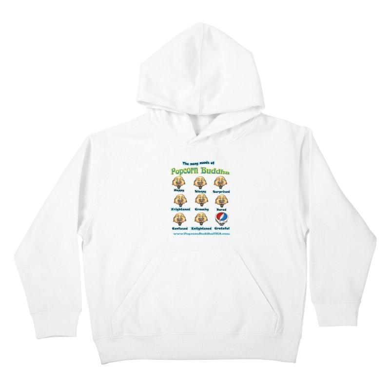 Grateful Mood Kids Pullover Hoody by Popcorn Buddha Merchandise