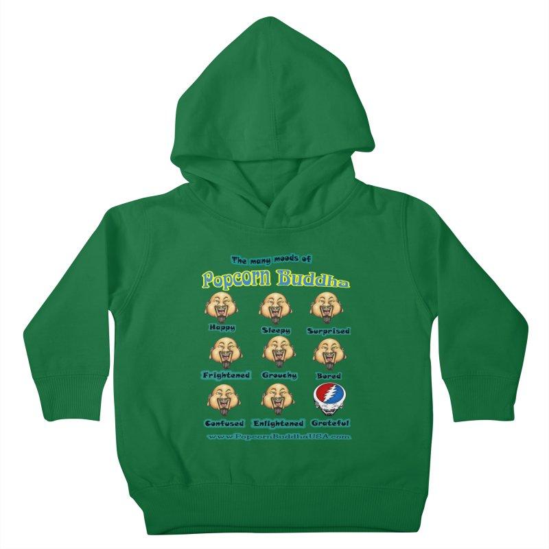 Grateful Mood Kids Toddler Pullover Hoody by Popcorn Buddha Merchandise