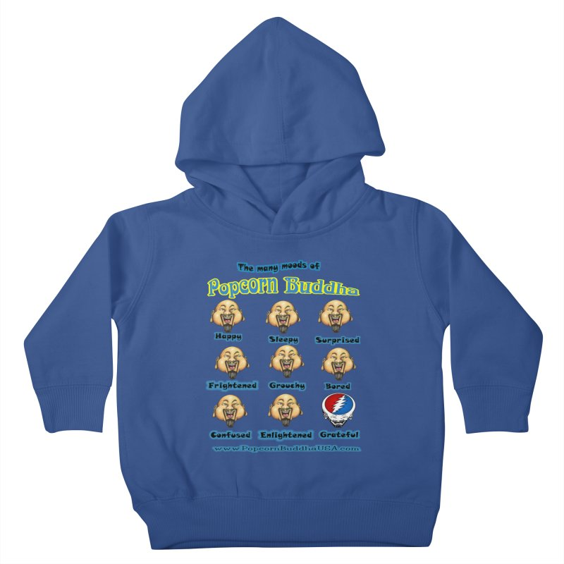 Grateful Mood Kids Toddler Pullover Hoody by Popcorn Buddha Merchandise